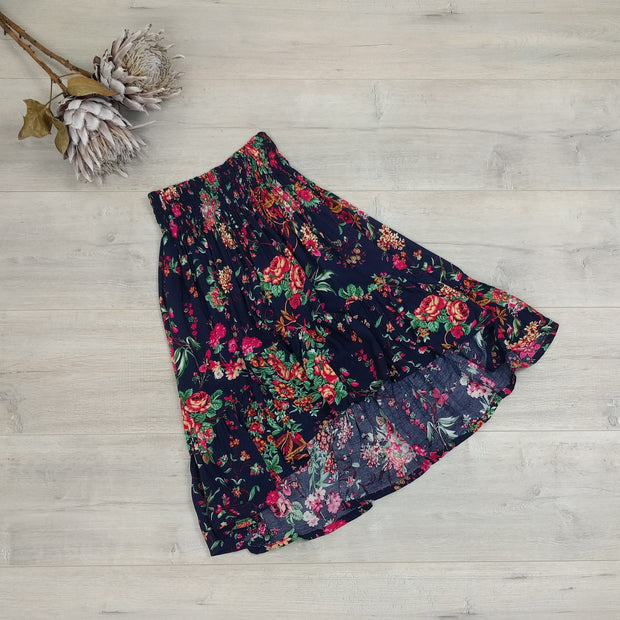 Short Francesca Skirt - Secret Garden