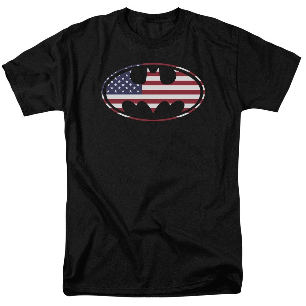 Batman - American Flag Oval