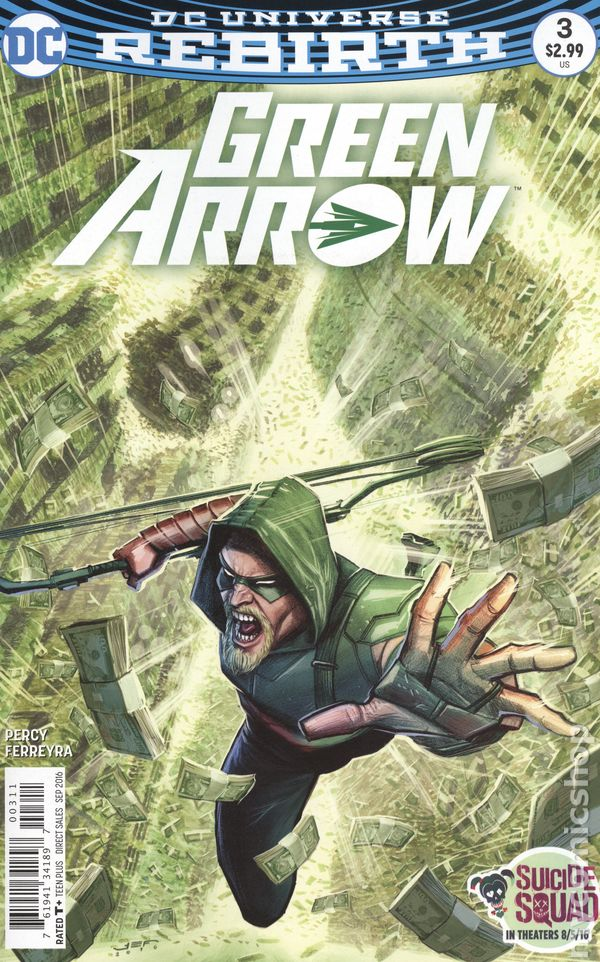 Green Arrow (Vol. 5) 3A