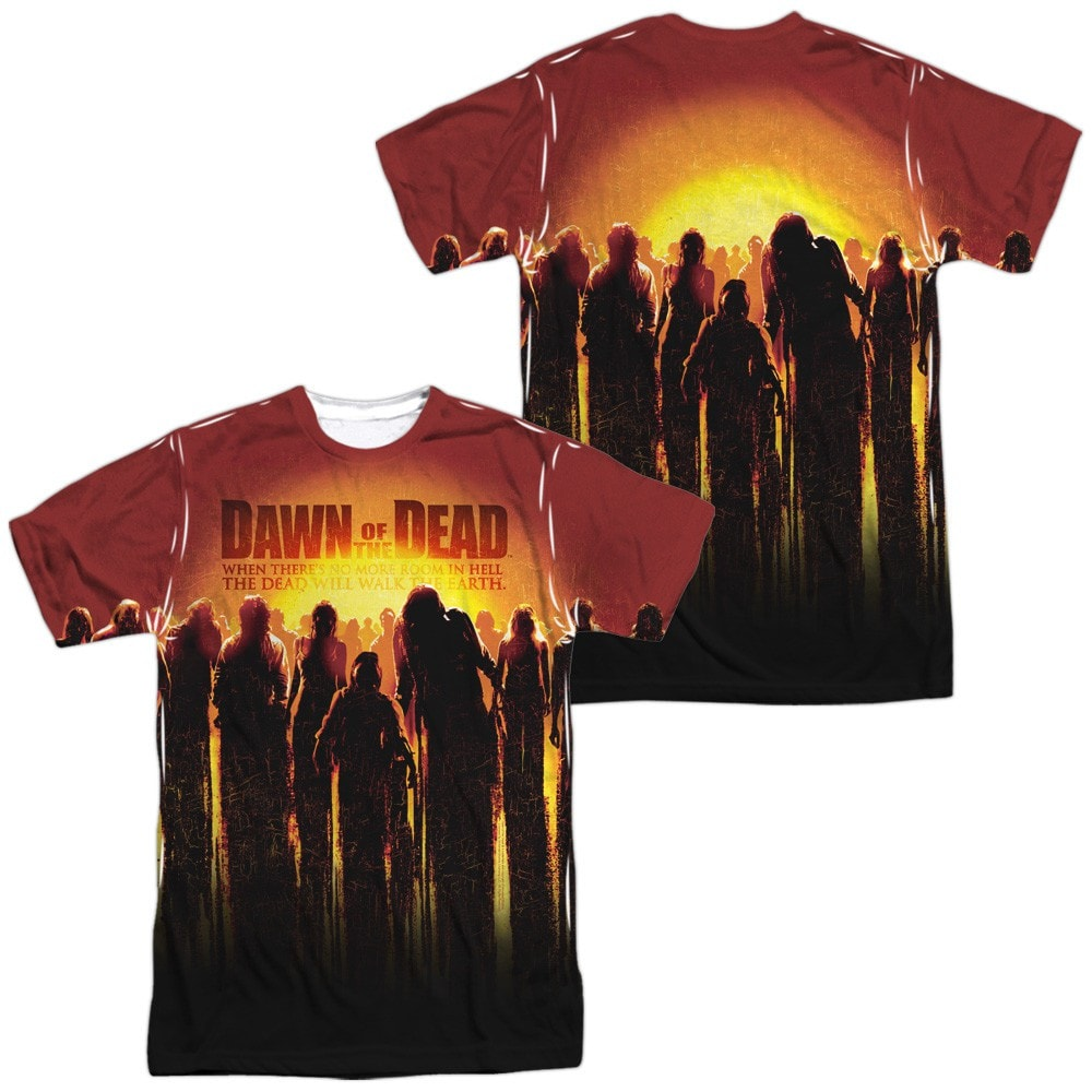 Dawn Of The Dead - Swarm (Front - Back Print)