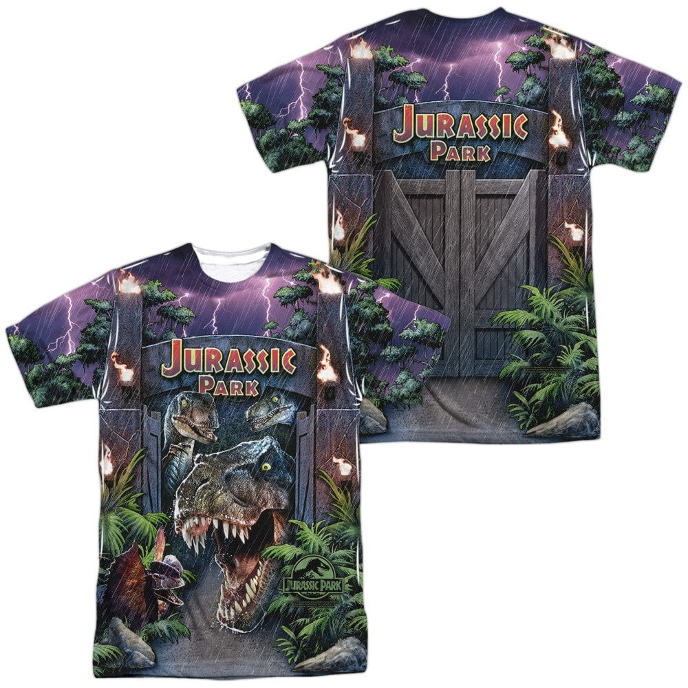 Jurassic Park - Welcome To The Park (Front - Back Print)