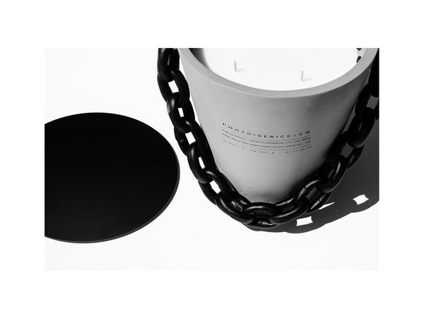 LTD EDITION XL CONCRETE BUCKET CANDLE