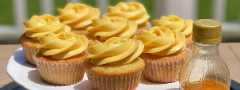 Passion Fruit Cupcakes by Zainab Illyas