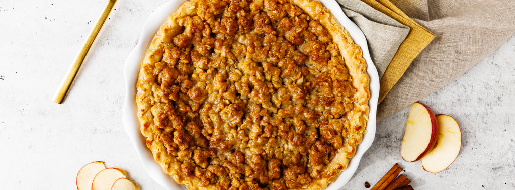 Caramel Apple Cider Pie