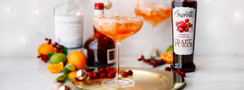 Spiced Cranberry Orange Margarita