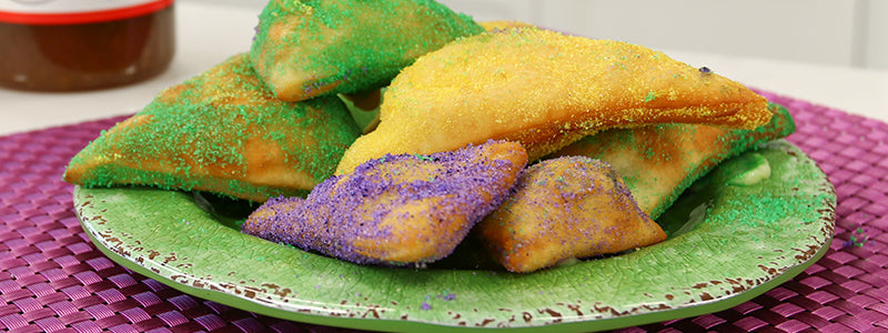 Beignets with Banana Cream Filling