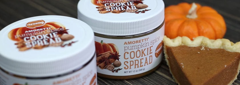 Amoretti Holiday Cookie Spreads