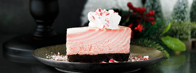 Peppermint Zebra Cheesecake