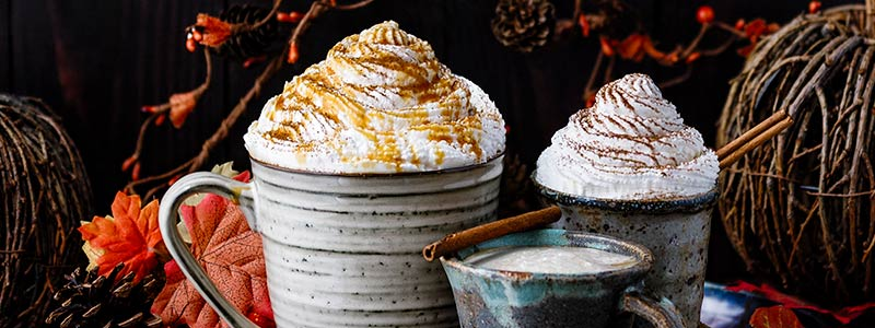 Pumpkin Spice Latte 3 Ways