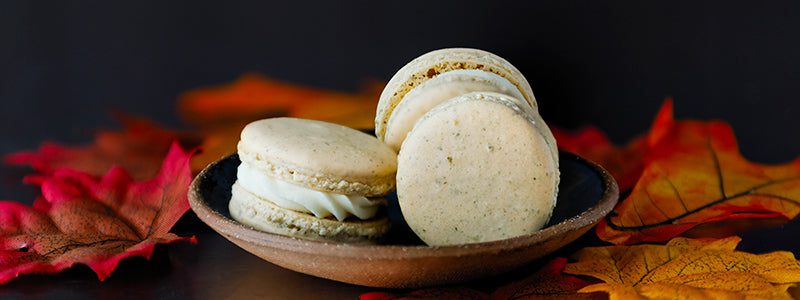 Pumpkin Spice Macarons with Chef Colette
