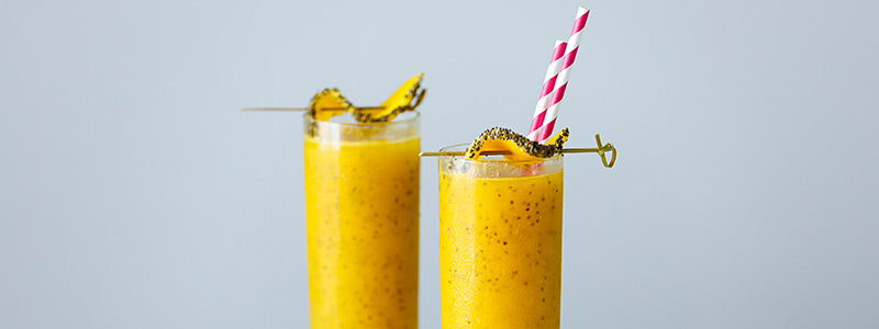 Tropical Chia Spritzer
