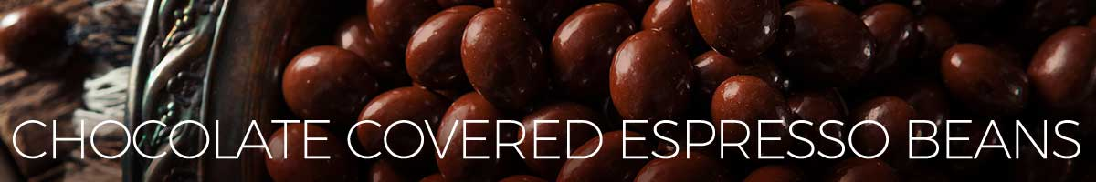 Amoretti® Chocolate Covered Espresso Beans. Espresso coffee beans covered in a rich and delicious chocolate.