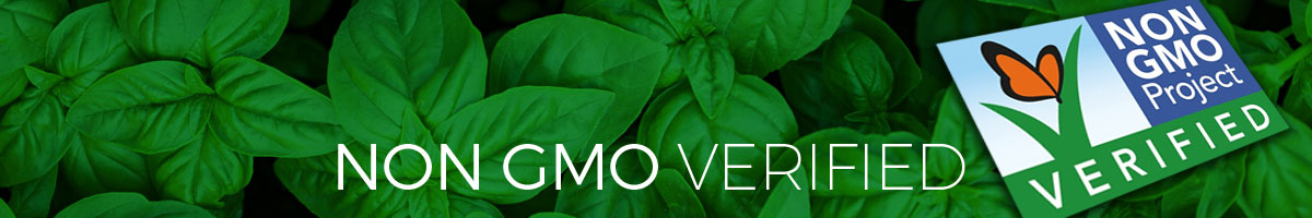 Amoretti Non GMO Products - Non GMO Project Verified