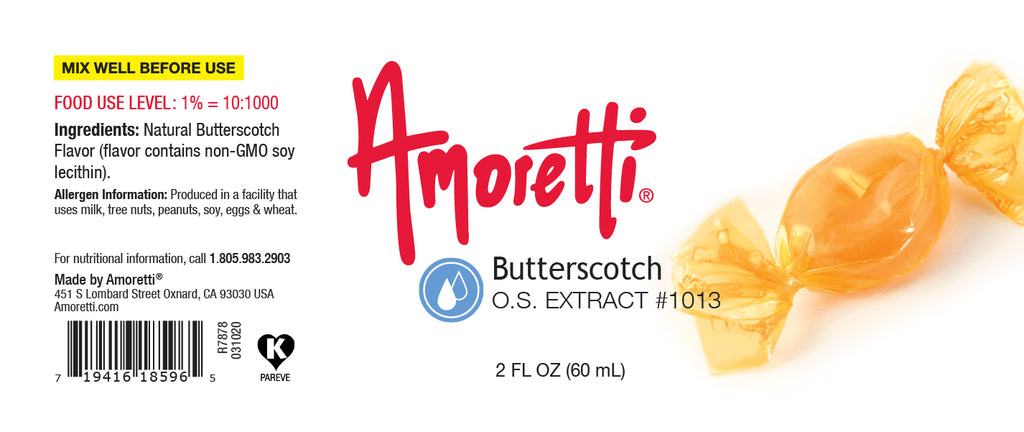 Butterscotch Extract Oil Soluble