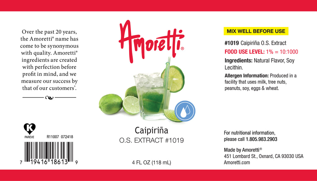 Caipirina Extract Oil Soluble