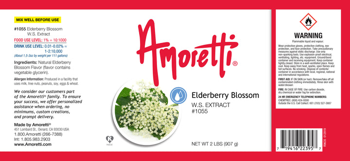 Elderberry Blossom Extract Water Soluble
