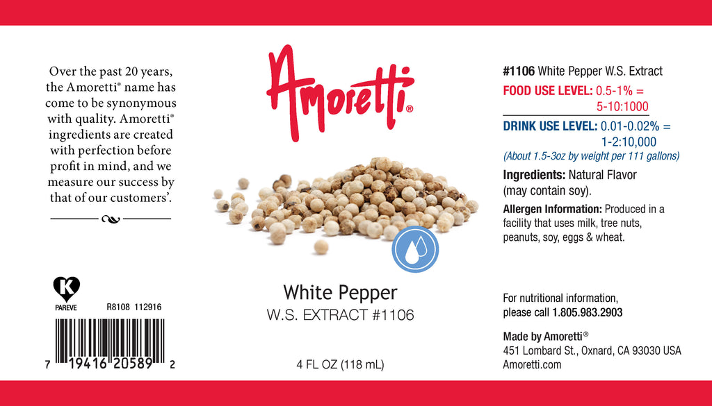 White Pepper Extract Water Soluble