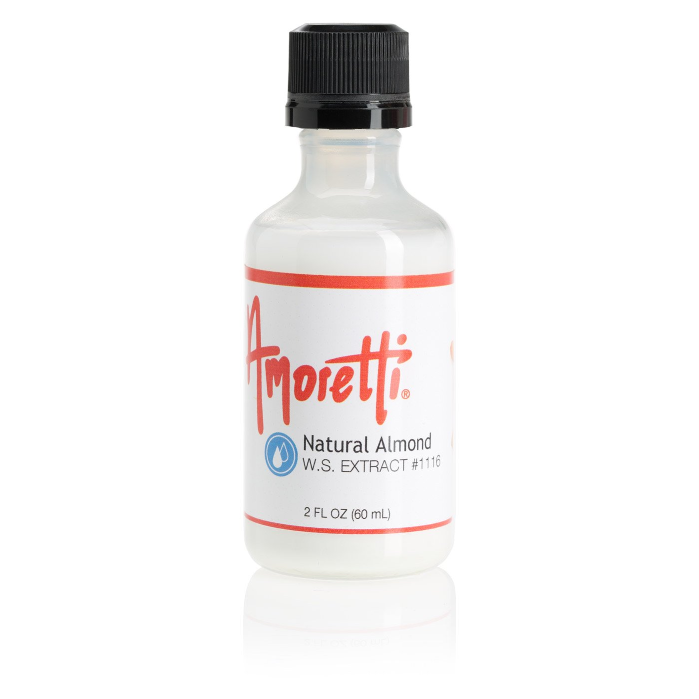 Amoretti Natural Almond Extract W.S.
