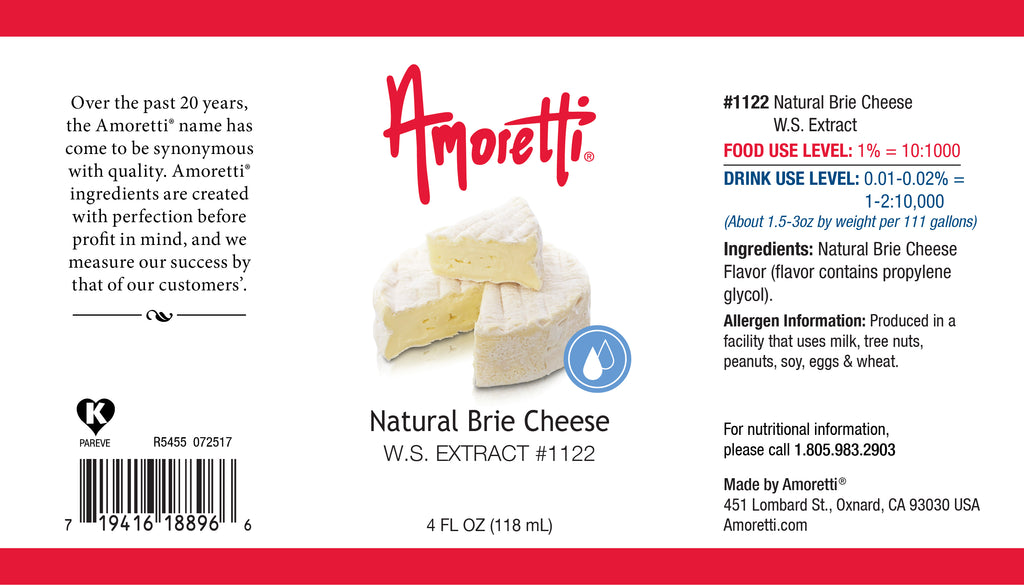 Natural Brie Cheese Extract Water Soluble
