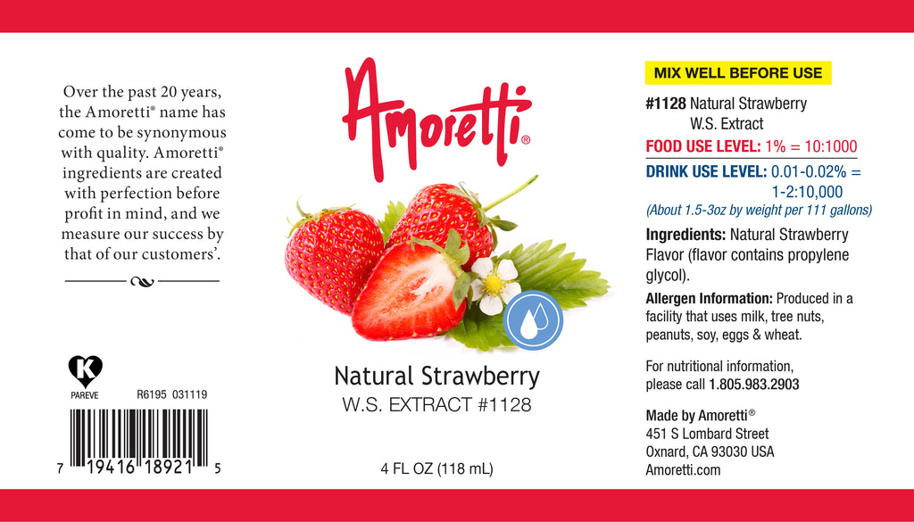 Strawberry Extract Natural Water Soluble