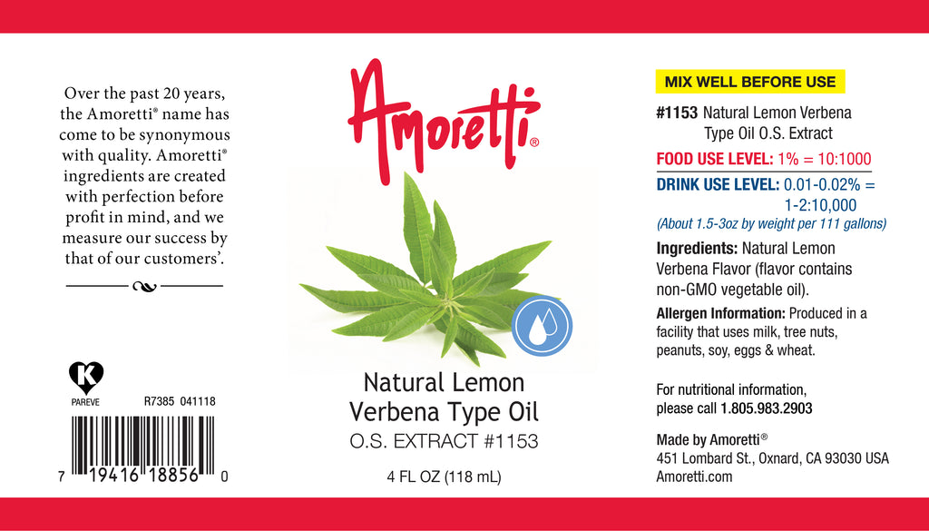 Lemon Verbena Extract Oil Soluble