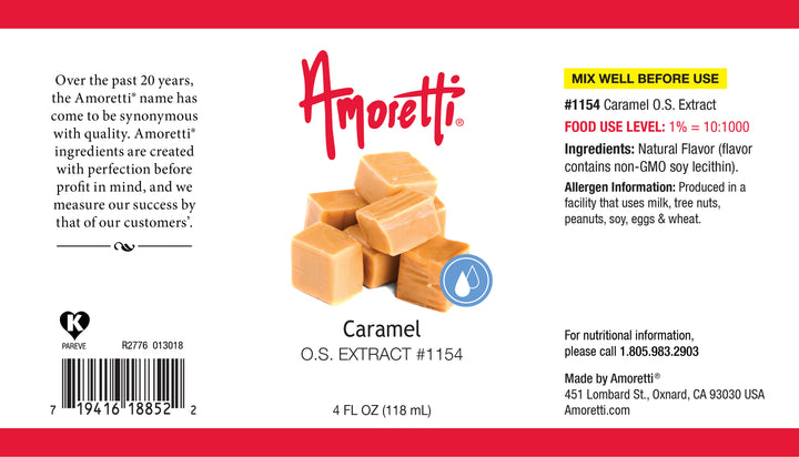 Caramel Extract Oil Soluble