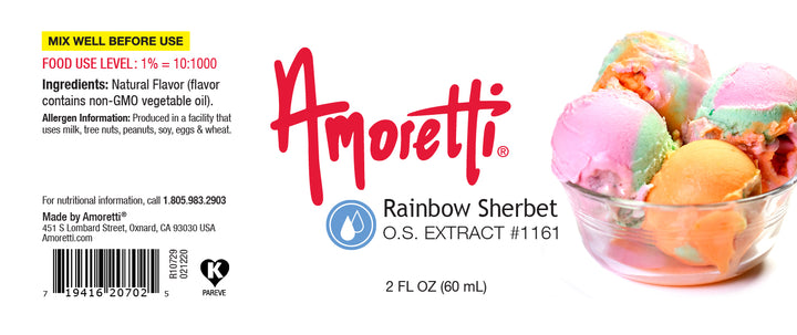 Rainbow Sherbet Extract Oil Soluble