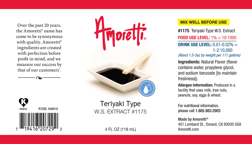 Teriyaki Extract Water Soluble