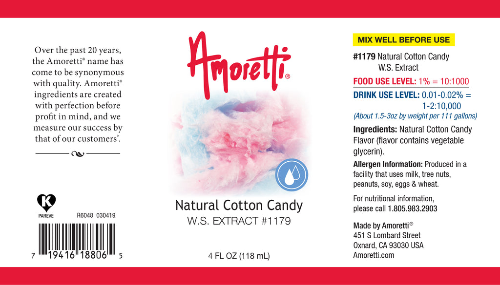 Cotton Candy Extract Water Soluble