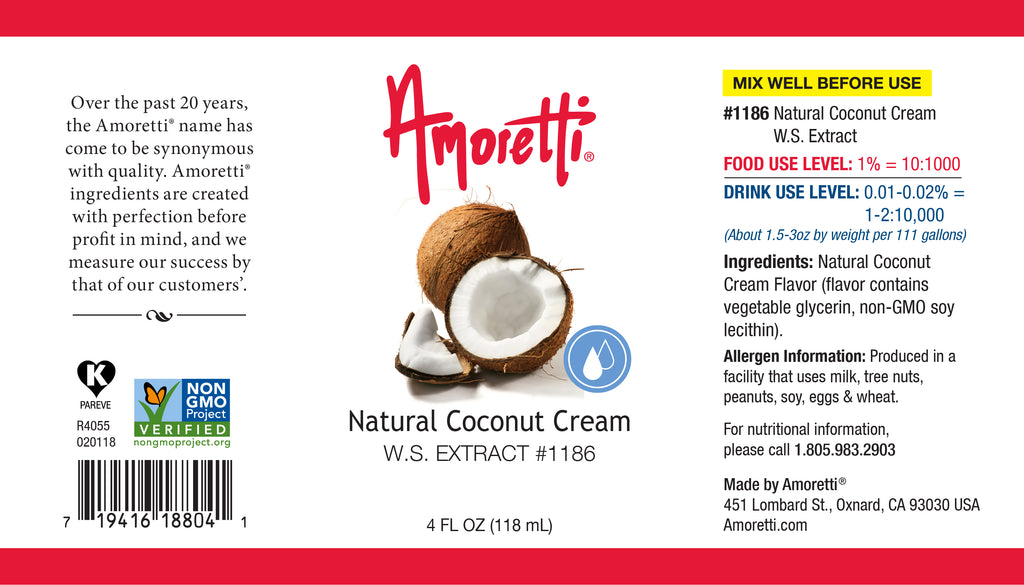 Natural Coconut Cream Extract Water Soluble