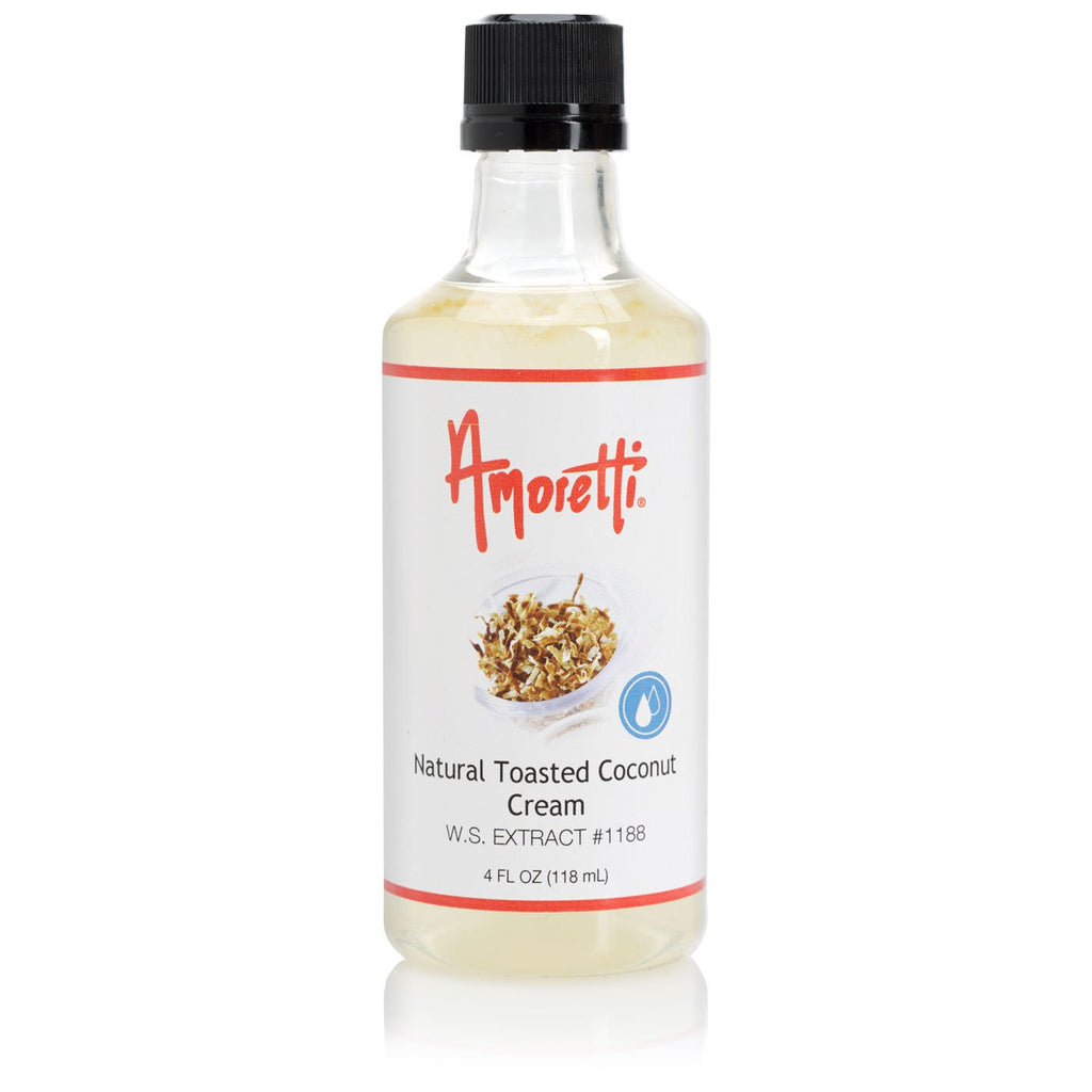 Amoretti Natural Toasted Coconut Cream Extract W.S.
