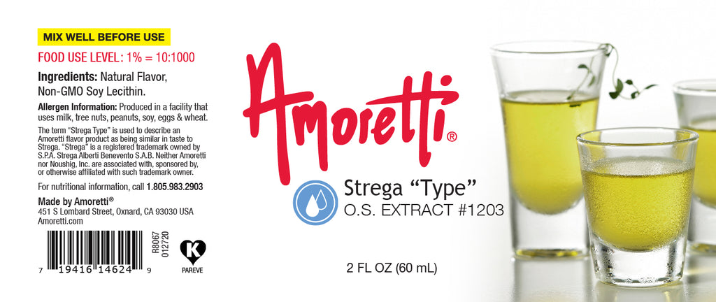 Strega Type Extract Oil Soluble