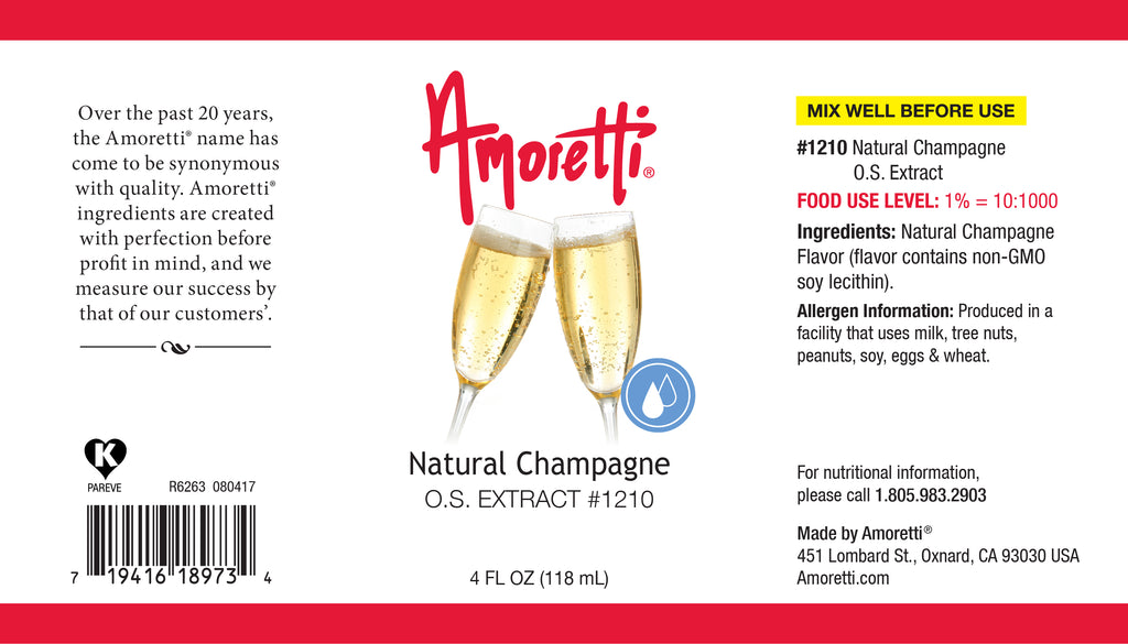 Natural Champagne Extract Oil Soluble