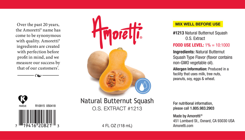 Natural Butternut Squash Extract Oil Soluble