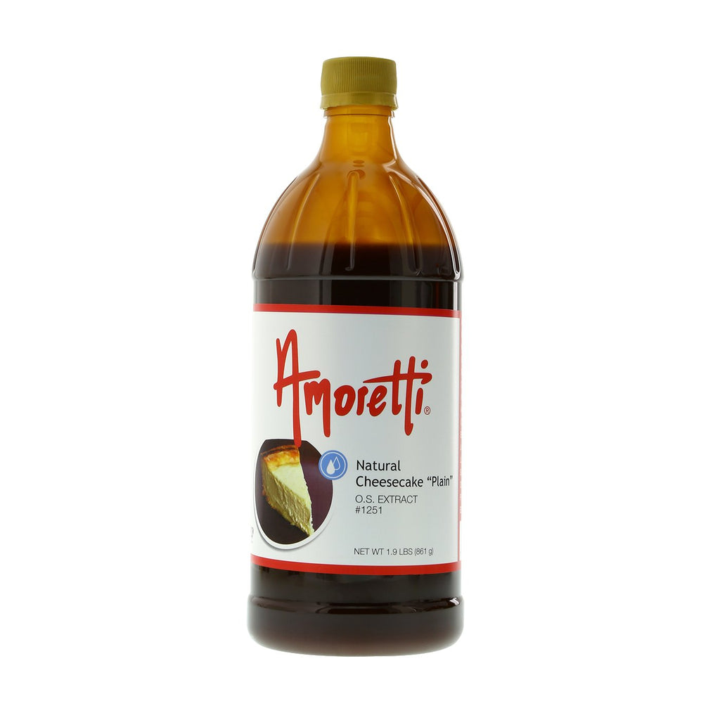 "Amoretti Natural Cheesecake ""Plain""? Extract Oil.S."