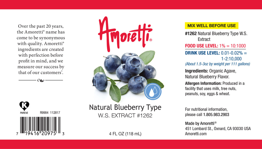 Natural Blueberry Type Extract Water Soluble
