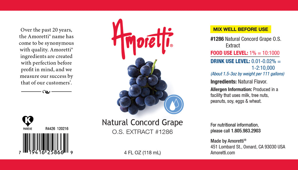 Natural Concord Grape Extract Oil Soluble