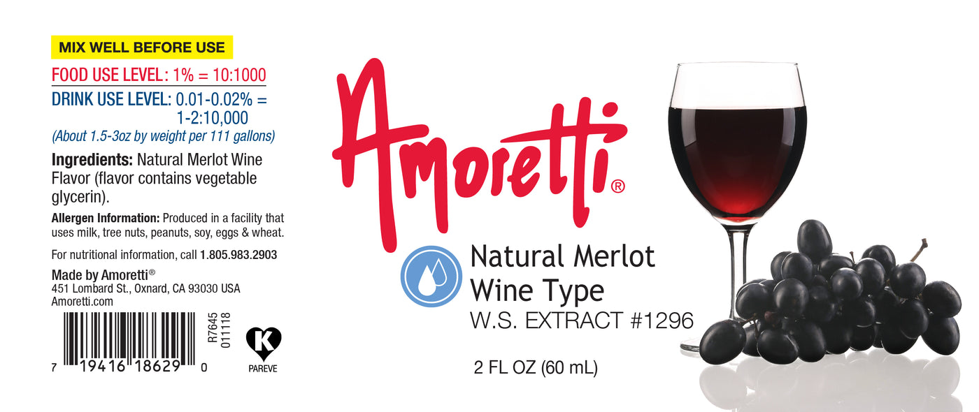Natural Merlot Wine Extract Water Soluble