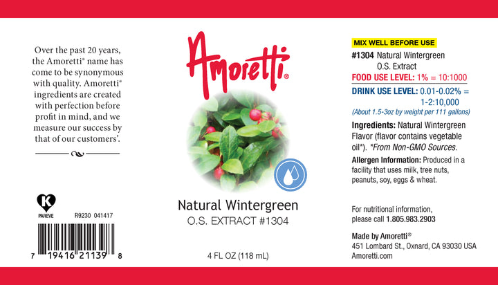 Natural Wintergreen Extract Oil Soluble