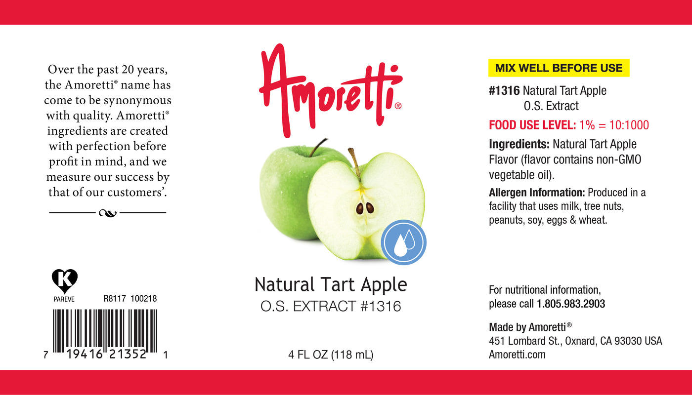 Natural Tart Apple Oil Soluble