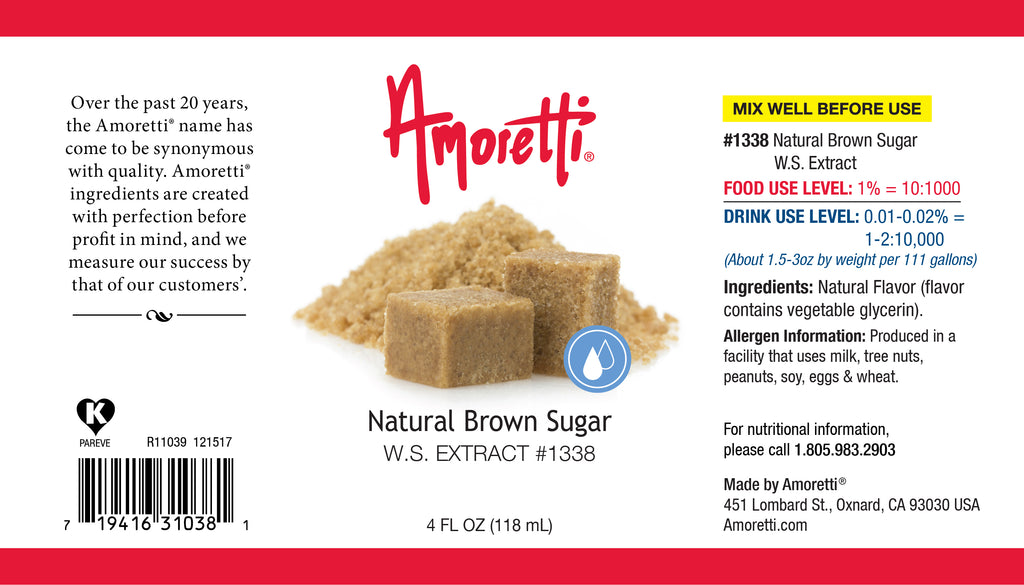 Natural Brown Sugar Extract Water Soluble