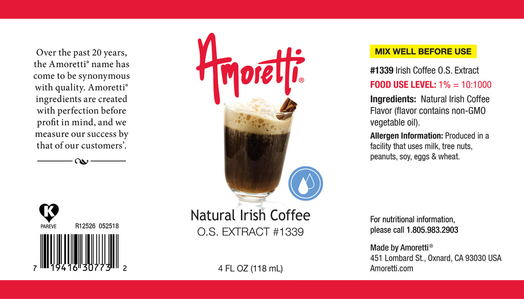 Natural Irish Coffee Extract Oil Soluble