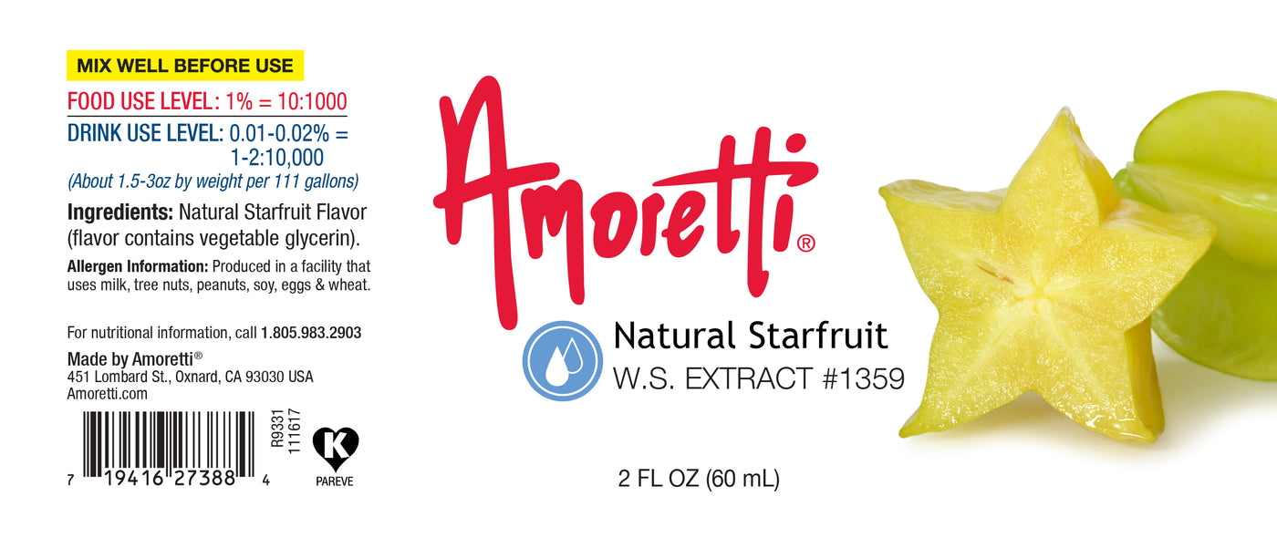 Natural Starfruit Extract Water Soluble