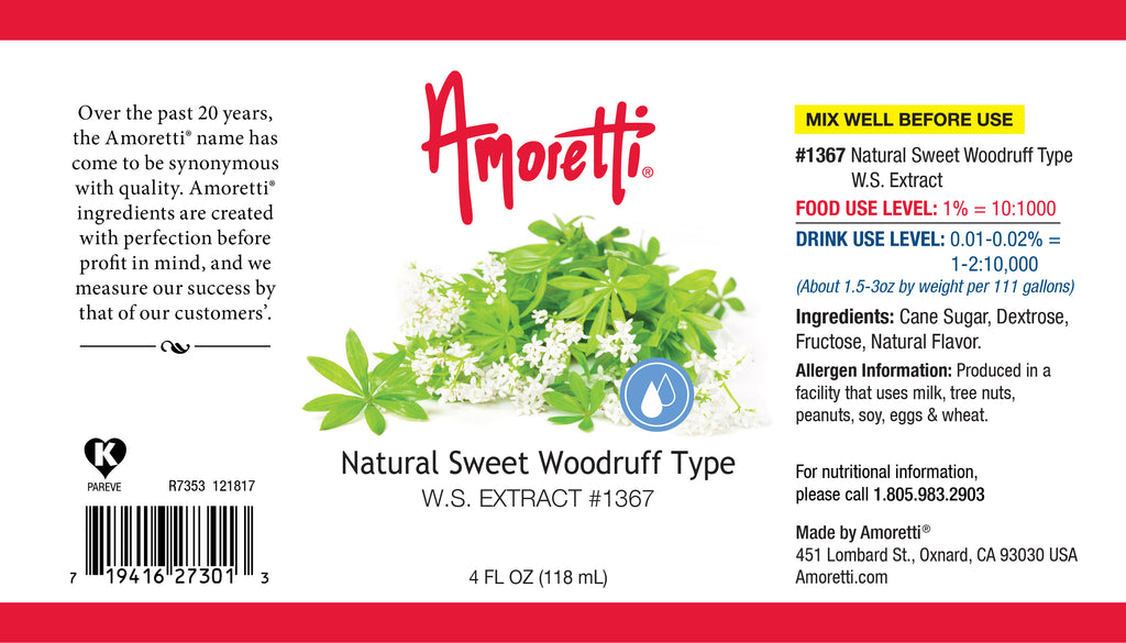 Natural Sweet Woodruff Type Extract Water Soluble
