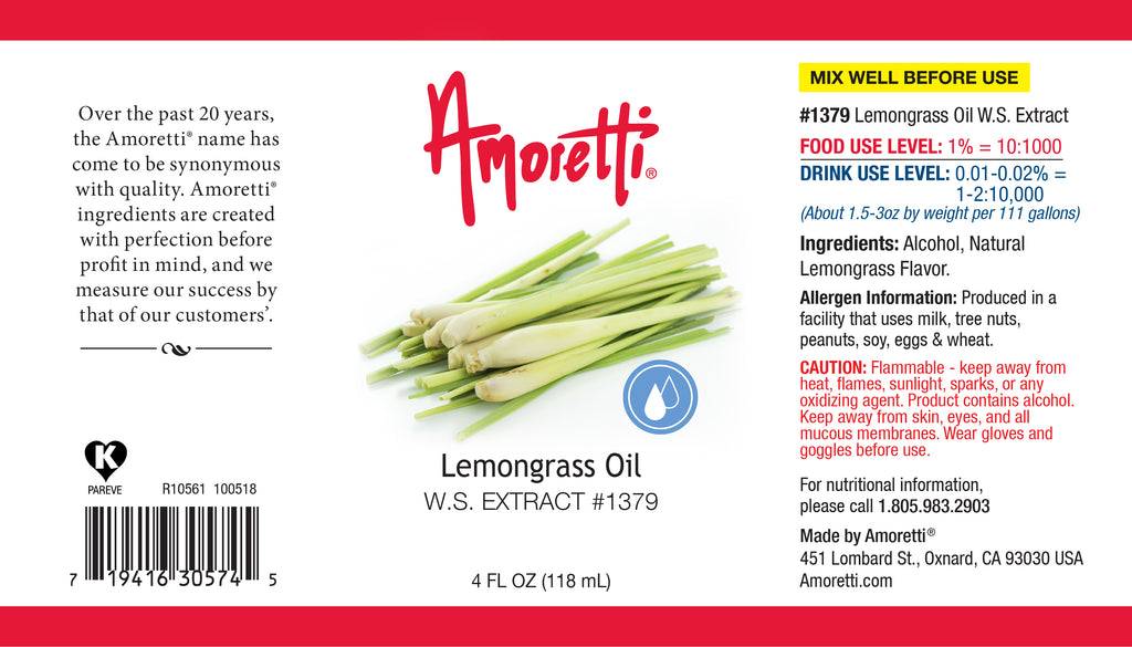 Lemongrass Oil Extract Water Soluble
