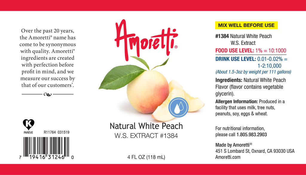 White Peach Extract Water Soluble