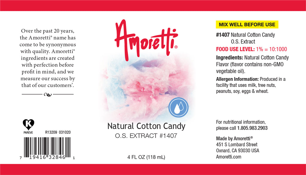 Natural Cotton Candy Extract Oil Soluble
