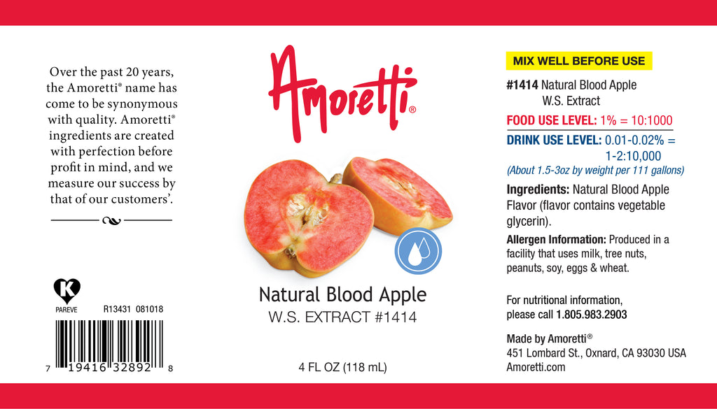 Natural Blood Apple Extract Water Soluble