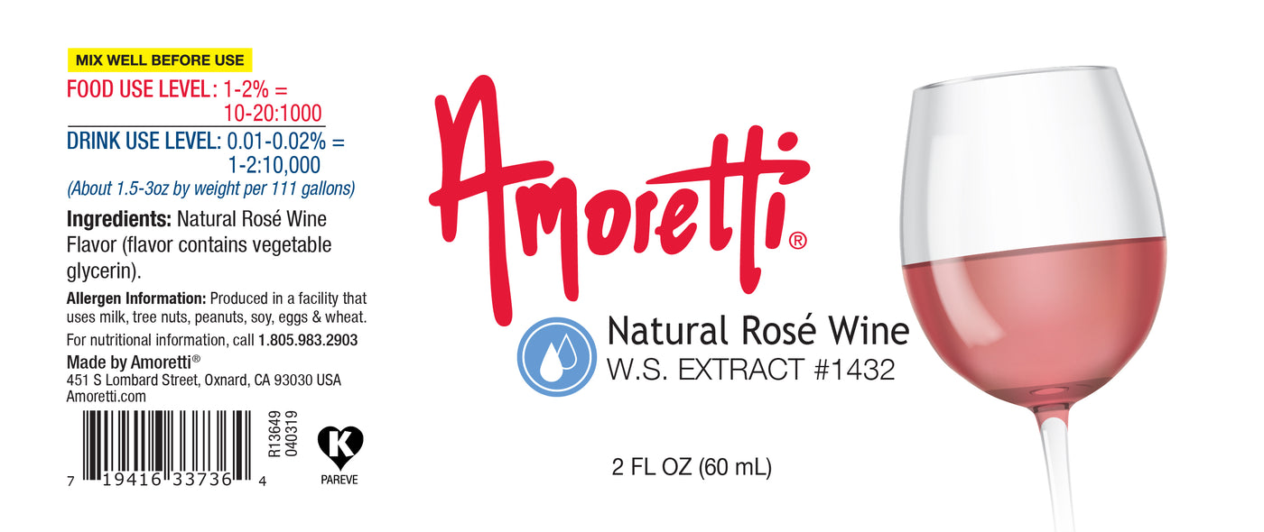 Natural Rosé Wine Extract Water Soluble