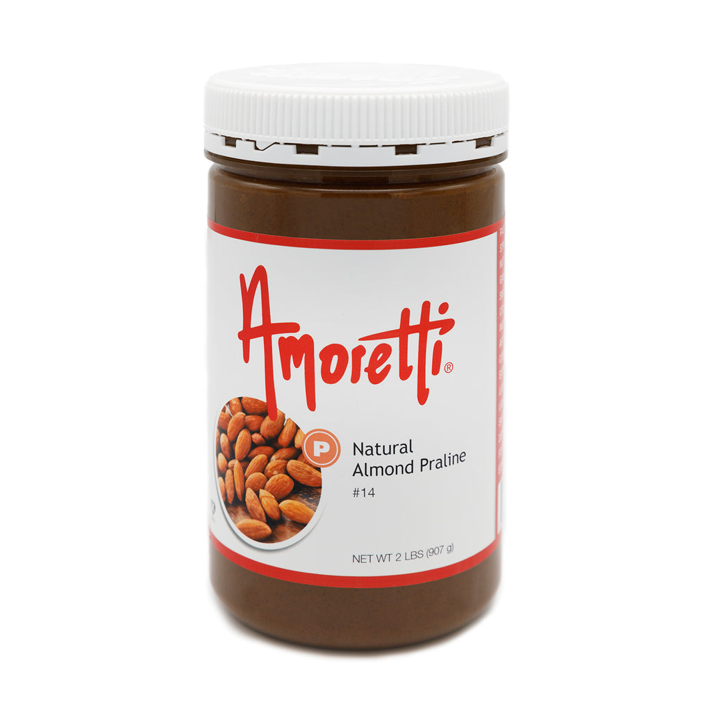 Natural Almond Praline - Dark Roasted, Ultra Smooth Natural (skin on) Almond Butter (no sugar added)
